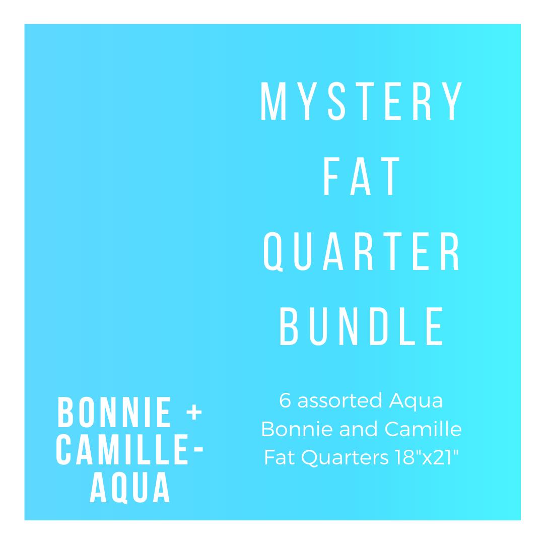 B+C BC-6-FQBA 6 Aqua Fat Quarters