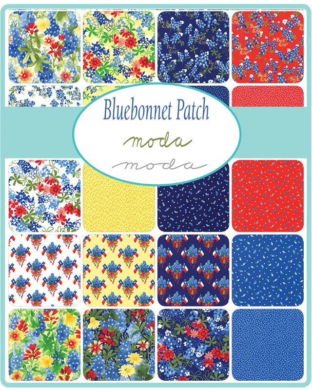 Bluebonnet Patch 33310-LC