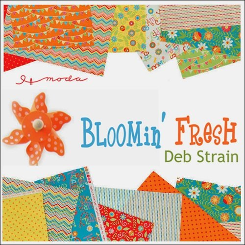 Bloomin Fresh Red Panel/Fat Quarter Bundle BFR