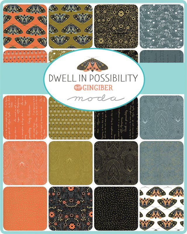 PRE-ORDER Dwell In Possibility 43810-FQB Fat Quarter Bundle