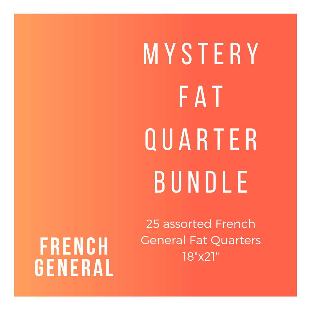 French General FG-25-FQB 25 Fat Quarters