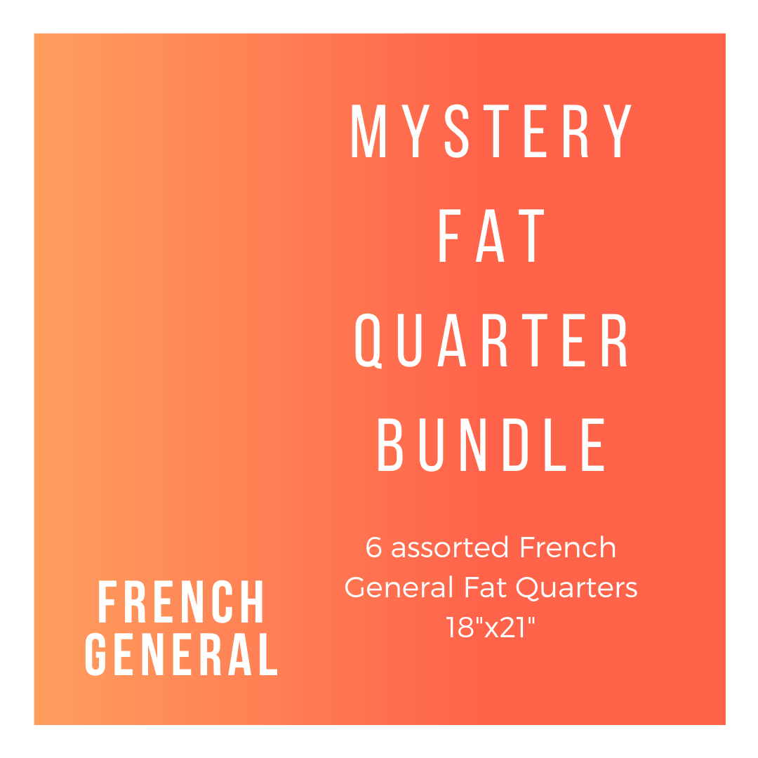 French General FG-6-FQB 6 Fat Quarters