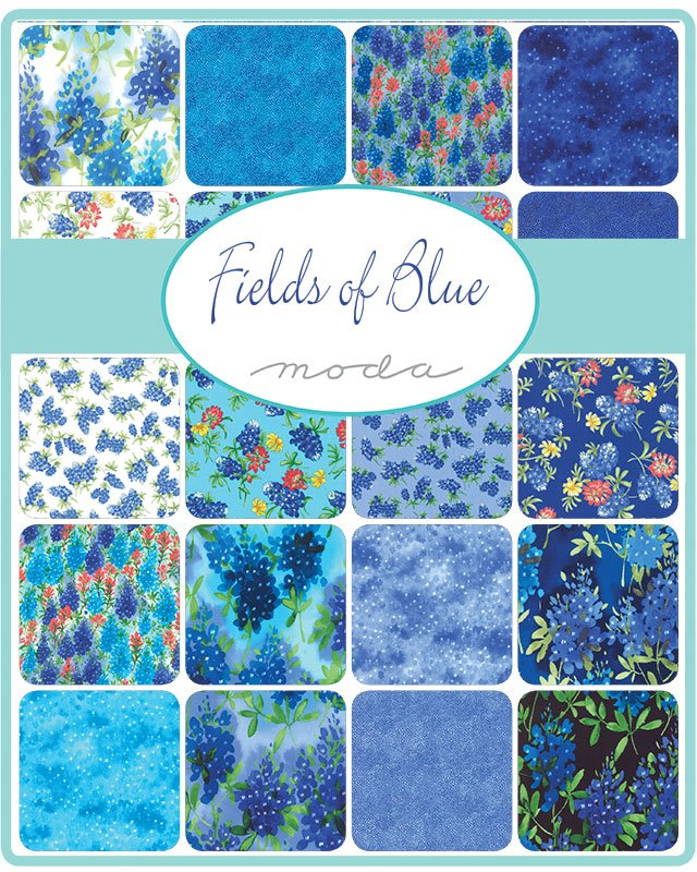 Fields Of Blue 33450-PP Charm Pack