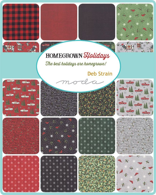 Homegrown Holidays 19940-FQB Fat Quarter Bundle