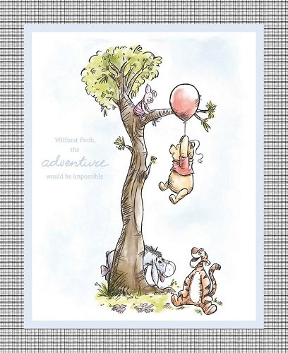 Pooh and Friends Panel 68747