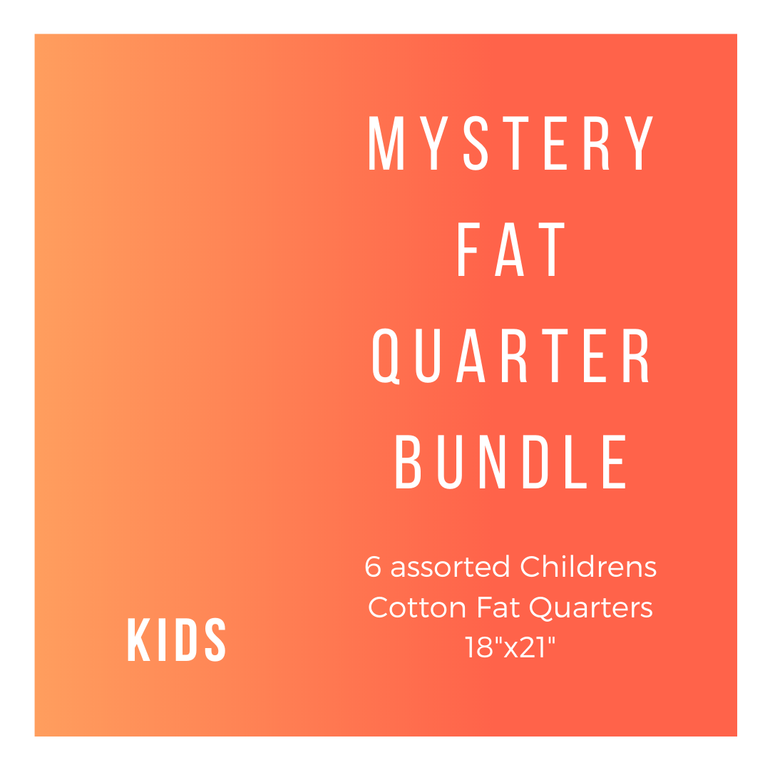 Kids K-6-FQB 6 Fat Quarters