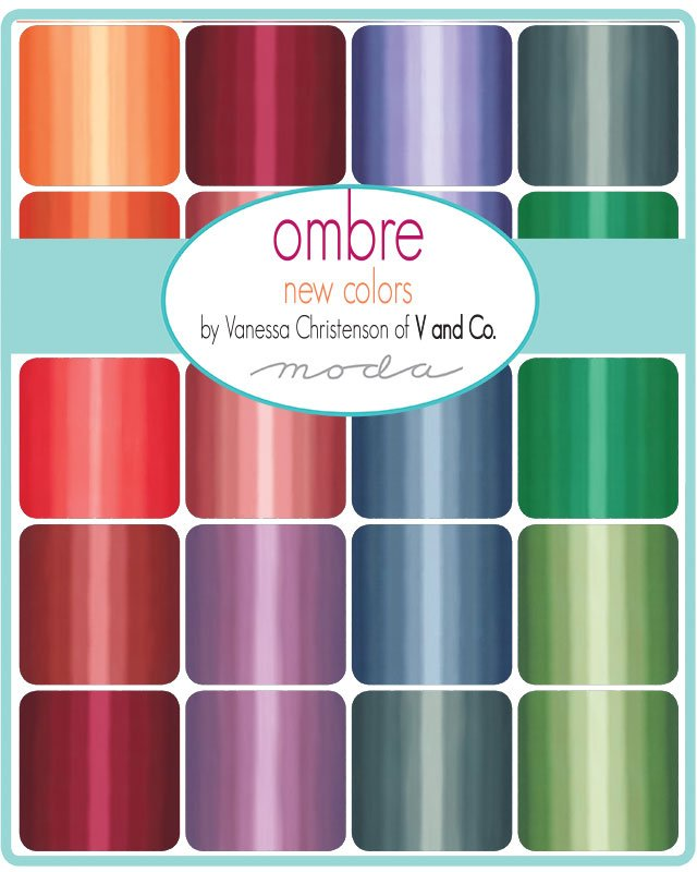 PRE-ORDER Ombre New 10800-FQBN Fat Quarter Bundle