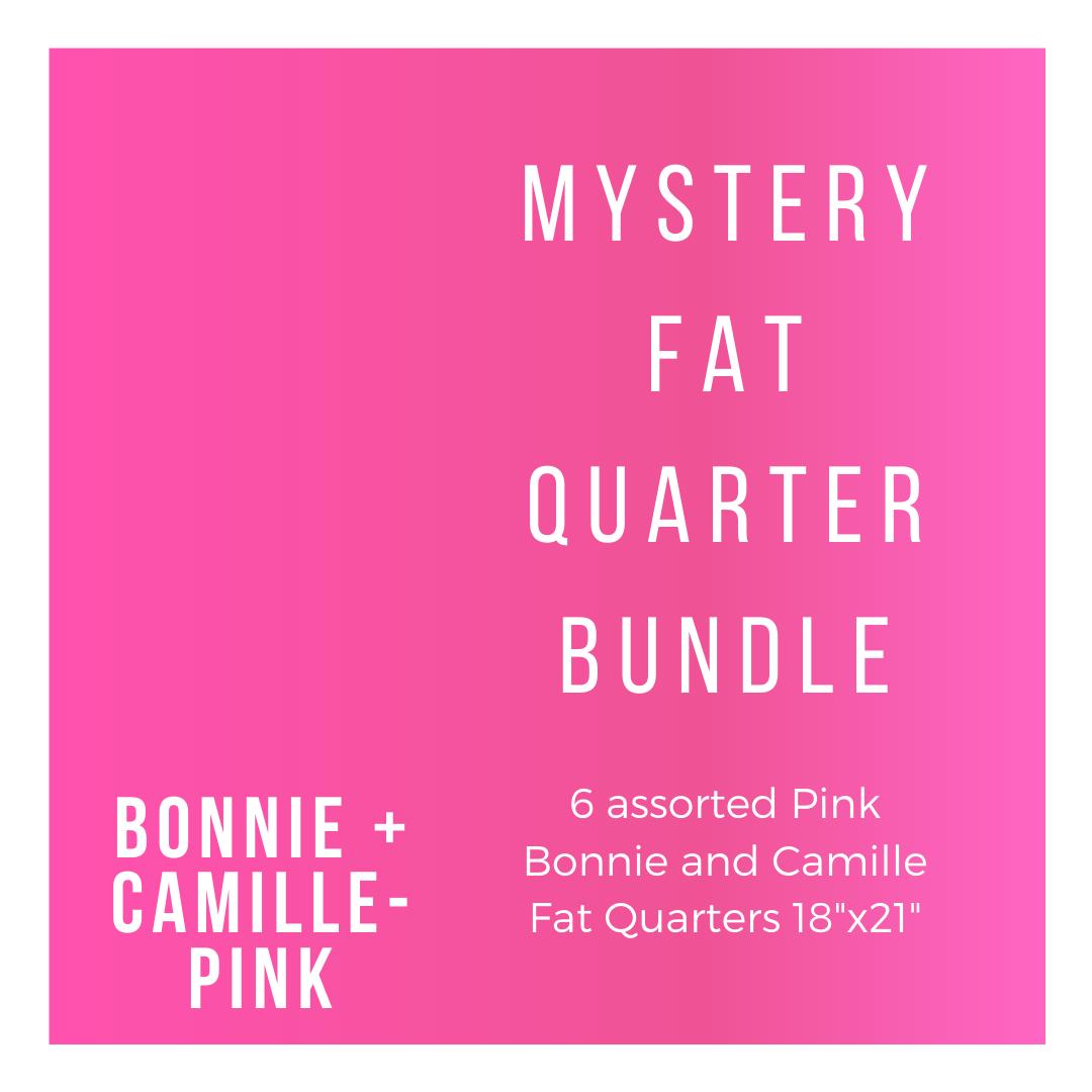 B+C BC-6-FQBP 6 Pink Fat Quarters