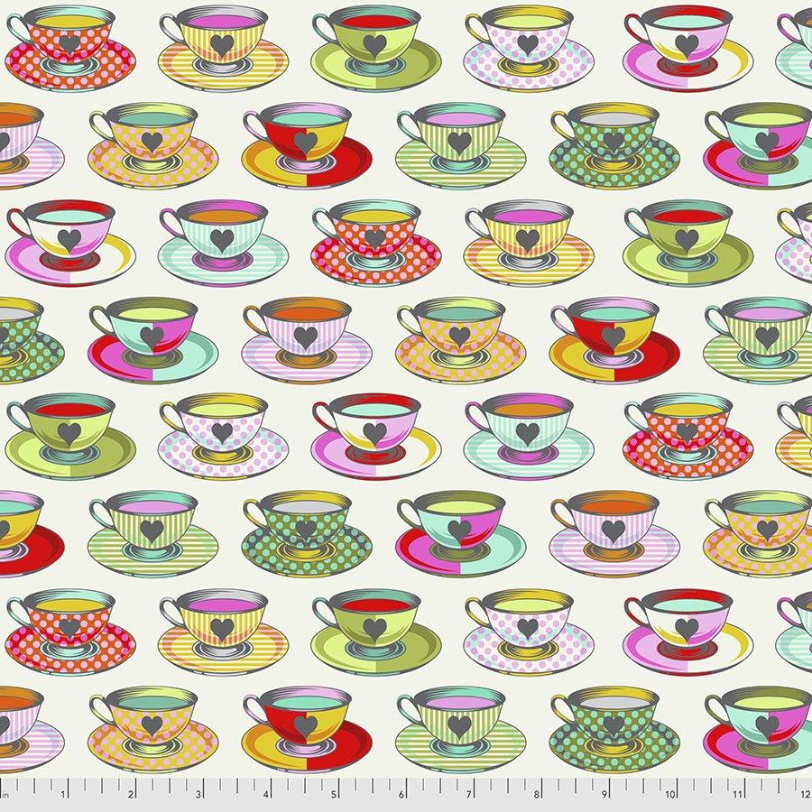 Curiouser & Curiouser PWTP163.Sugar Tea Time White