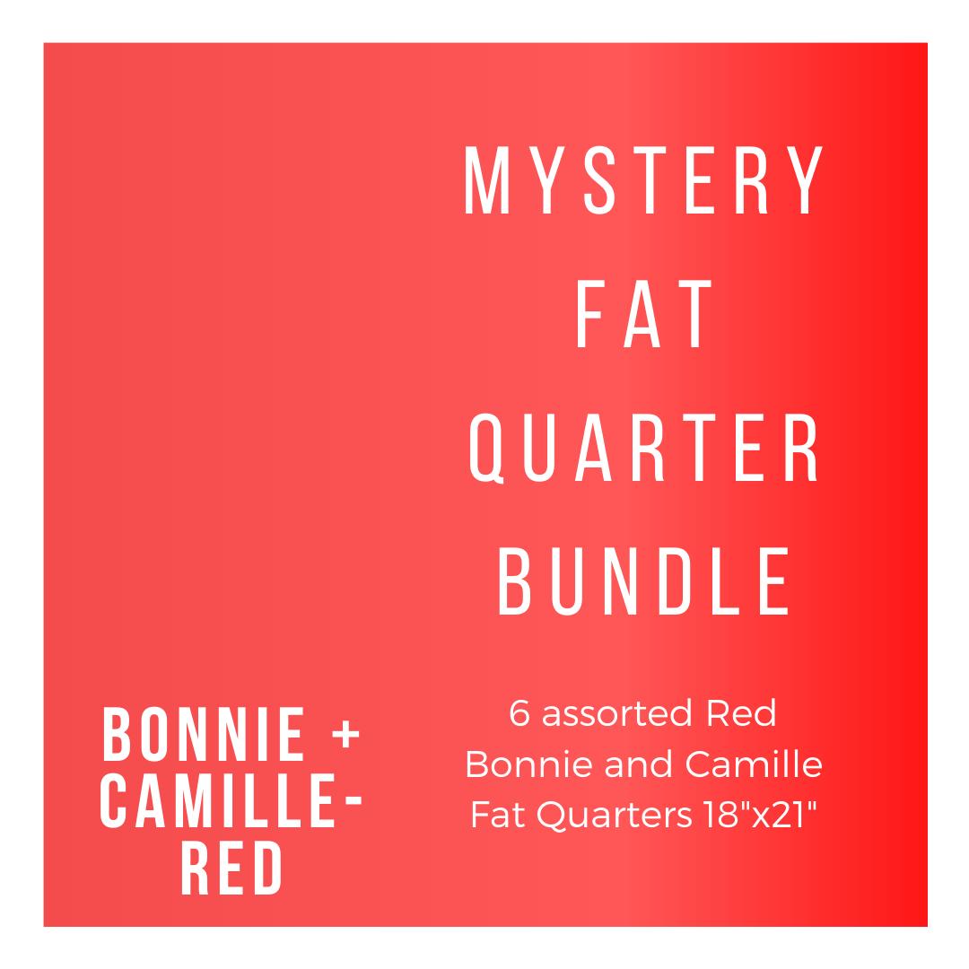 B+C BC-6-FQBR 6 Red Fat Quarters