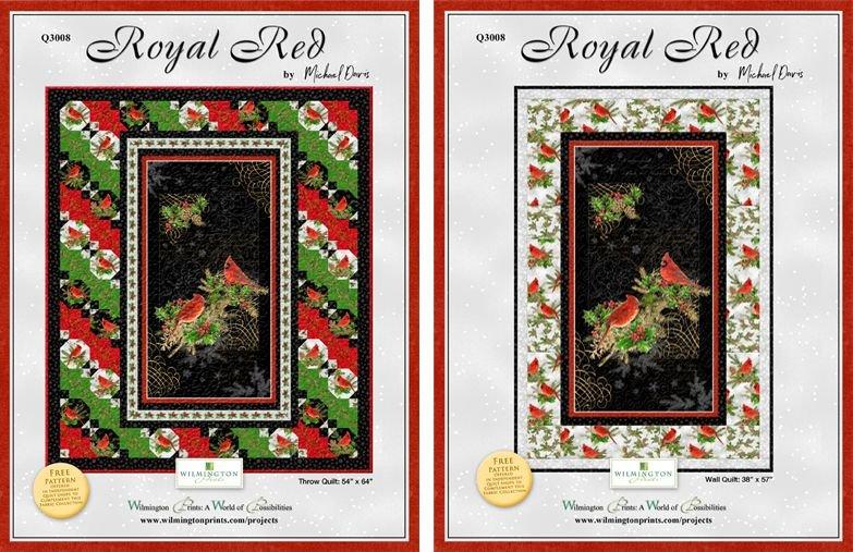 Royal Red Pattern Q3008