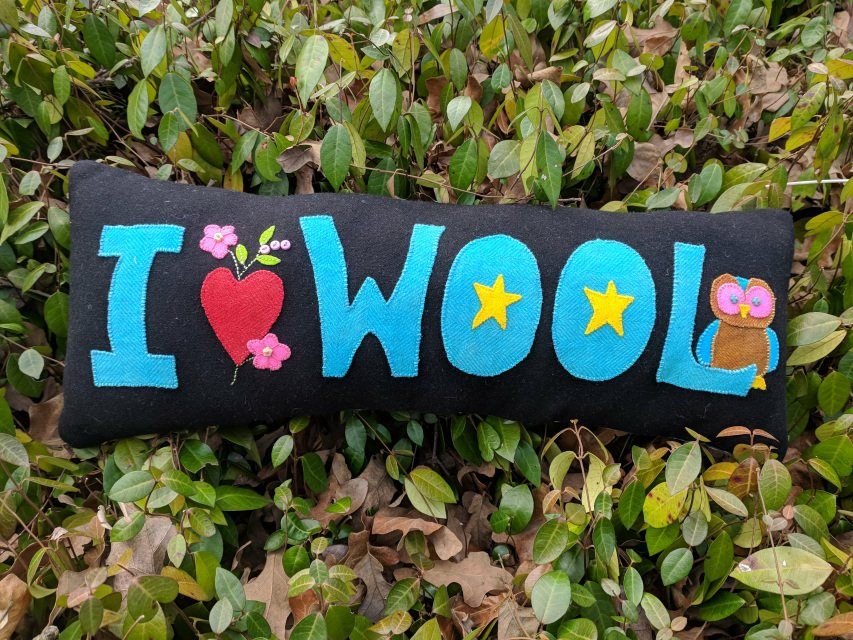 I Love Wool Pillow Pattern ILWP