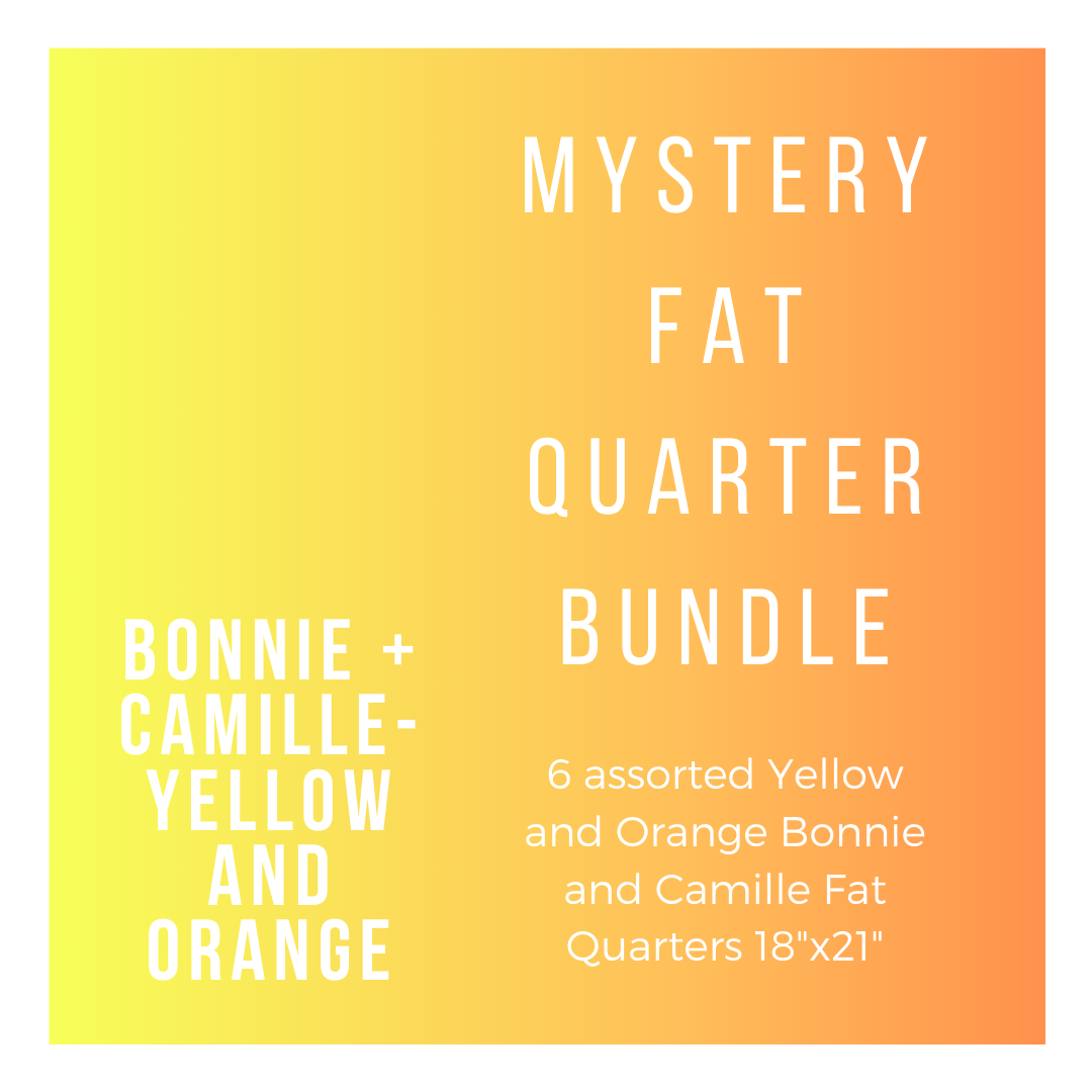 B+C BC-6-FQBYO 6 Yellow and Orange Fat Quarters