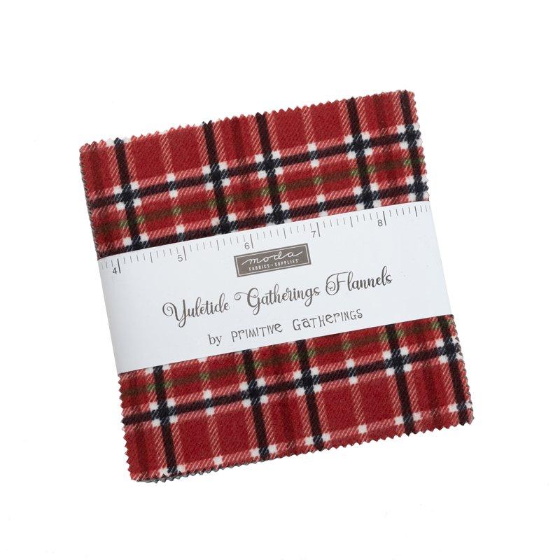 Yuletide Gatherings Flannels 49140PPF Charm Pack