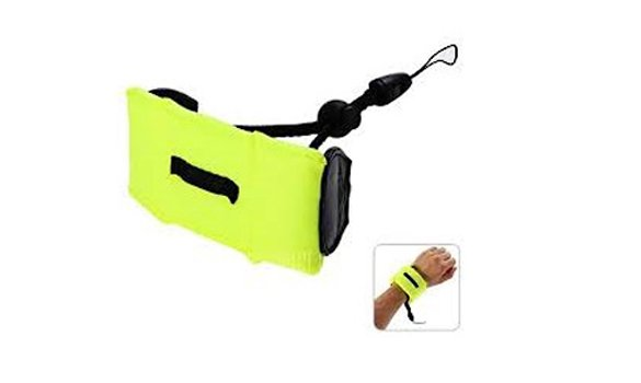 Hyperion Floating Camera Hand Strap - Yellow