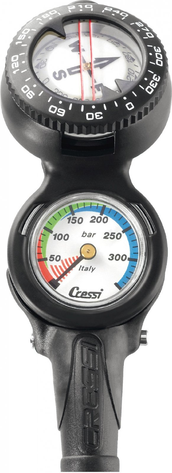 Cressi Console CP2 Compass + SPG Bar