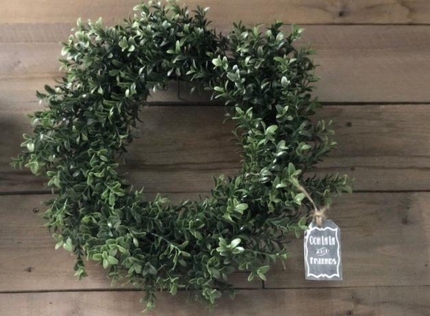 Boxwood Wreath 17