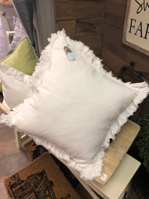 Ruffled Design Pillow
