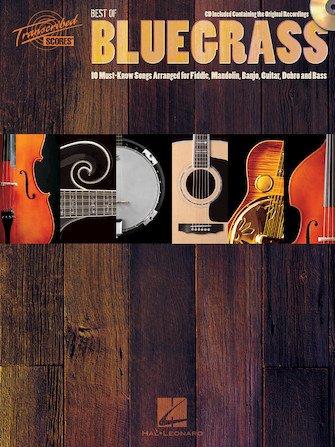 Best Of Bluegrass (CD) For Fiddle, Banjo, Mandolin, Guitar, Dobro and Bass