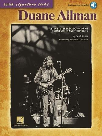 Guitar Signature Licks Duane Allman