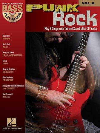 Punk Rock Bass Play-Along Vol. 8