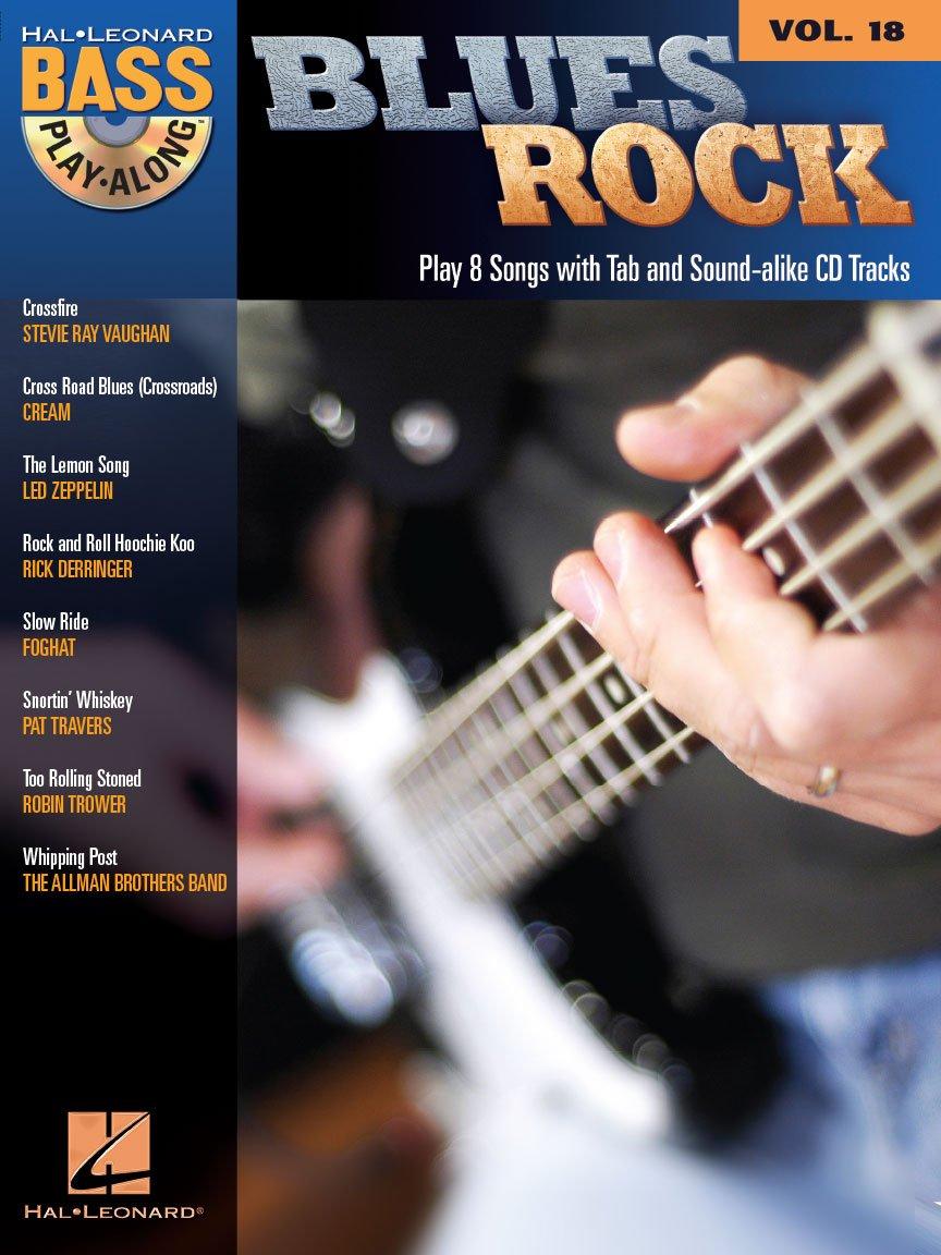 Blues Rock Bass Play-Along Vol. 18 (CD)
