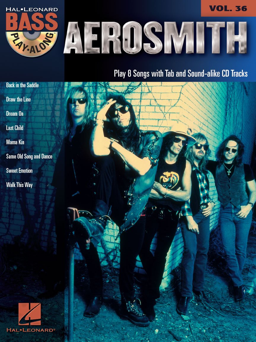Aerosmith Bass Play-Along Vol. 36 (CD)