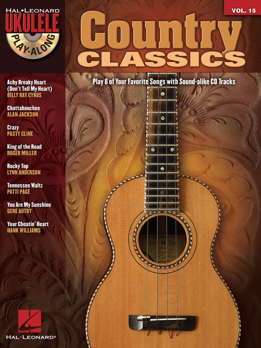 Country Classics Ukulele Play Along Vol. 15
