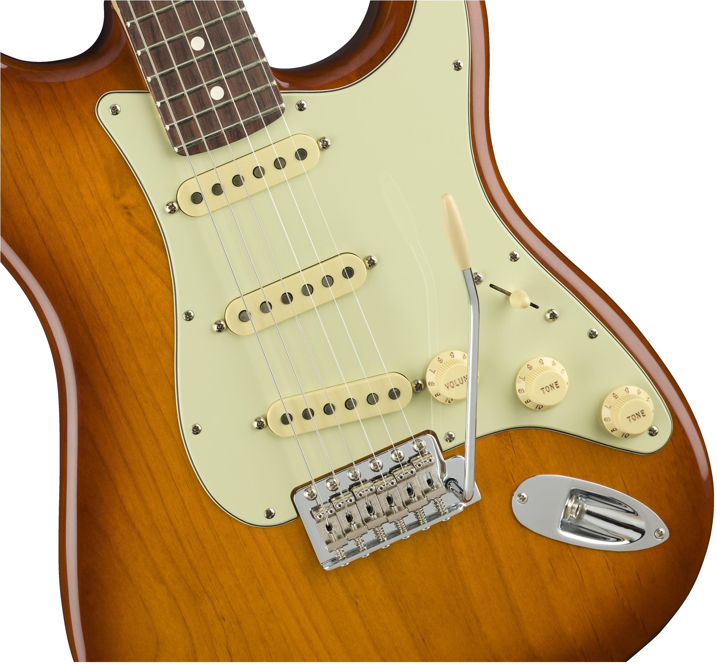 Fender American Performer Stratocaster Honey Burst