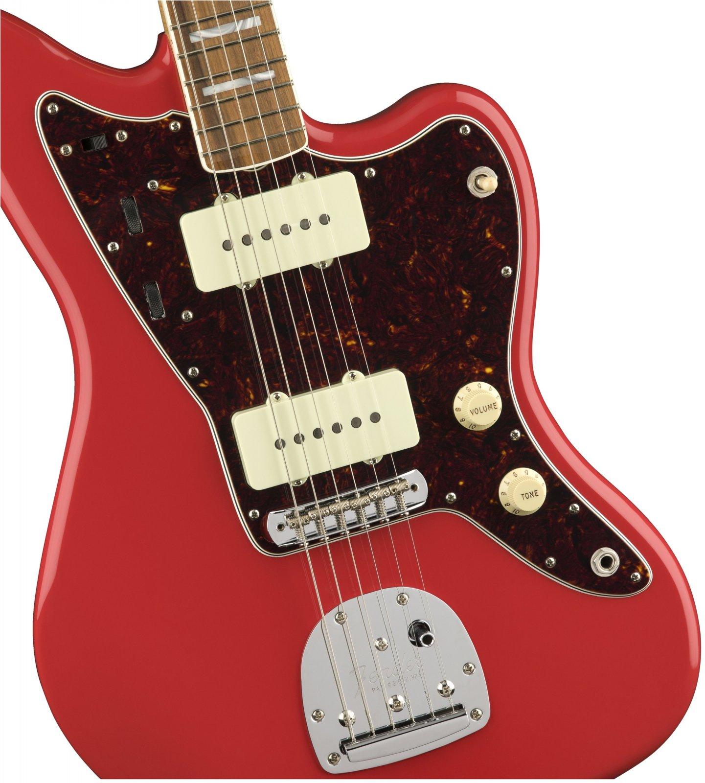 Fender 60th Anniversary Classic Jazzmaster w/ Pau Ferro Fingerboard - Fiesta Red