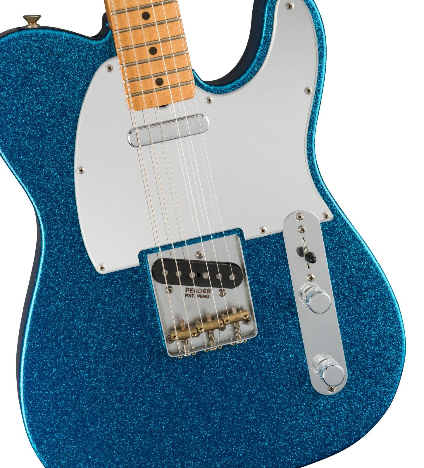 Fender J Mascis Telecaster -Bottle Rocket Blue Flake
