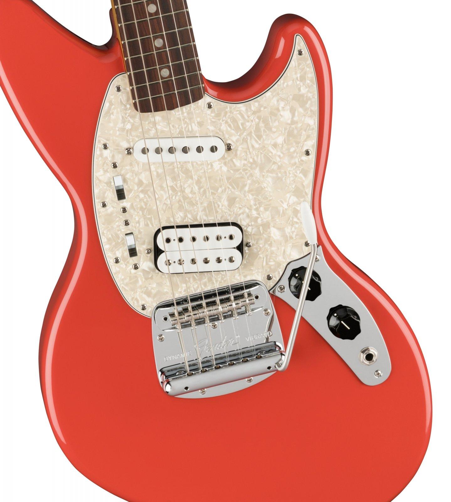 Fender Kurt Cobain Jag-Stang - Fiesta Red