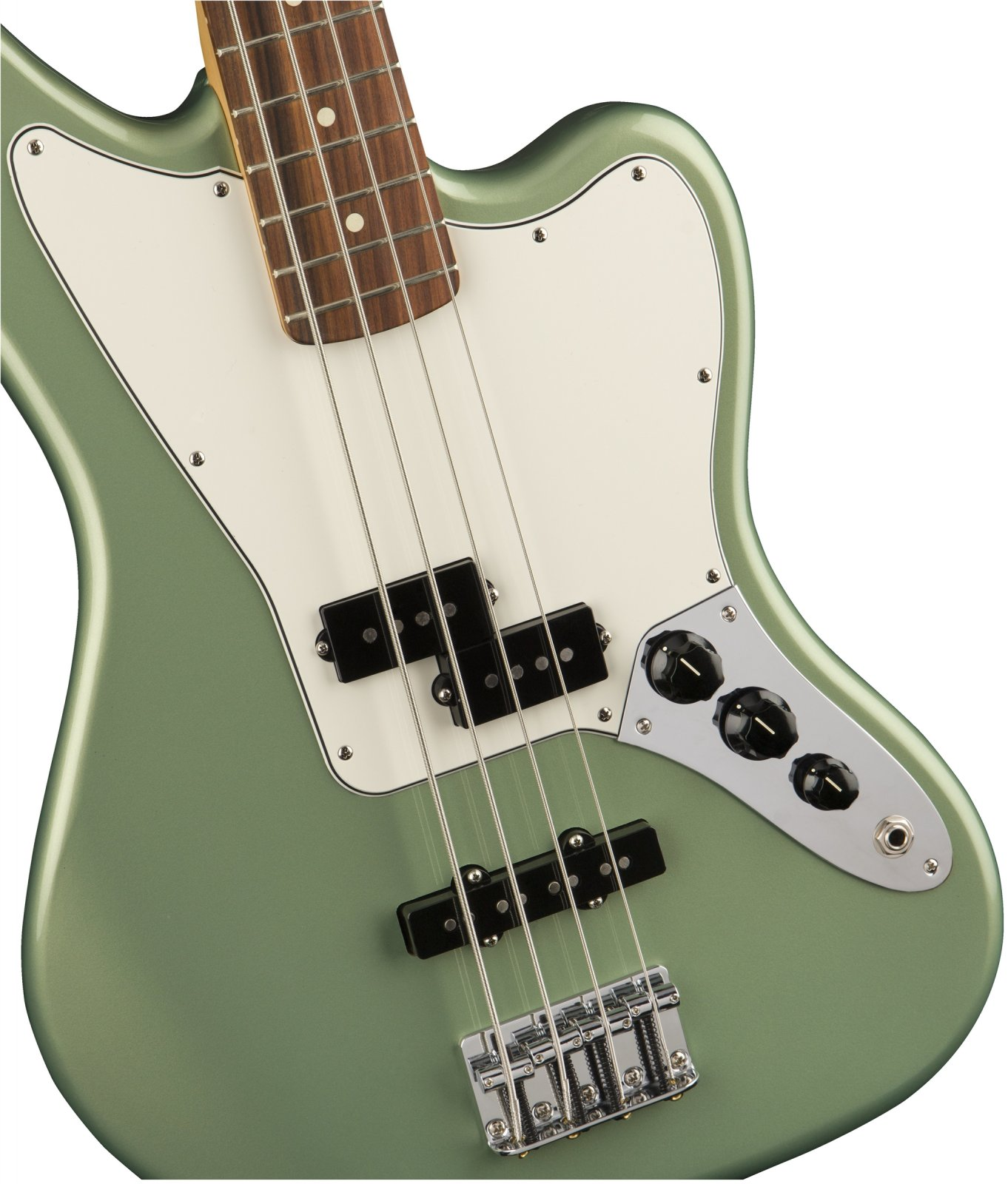 Fender Player Series Jaguar Bass - Sage Green Metallic w/ Pao Ferro Fingerboard