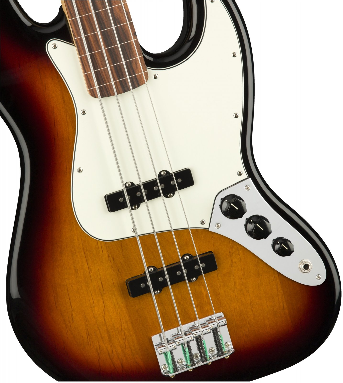 Fender Standard Jazz Bass Fretless - Brown Sunburst w/ Pau Ferro Fingerboard