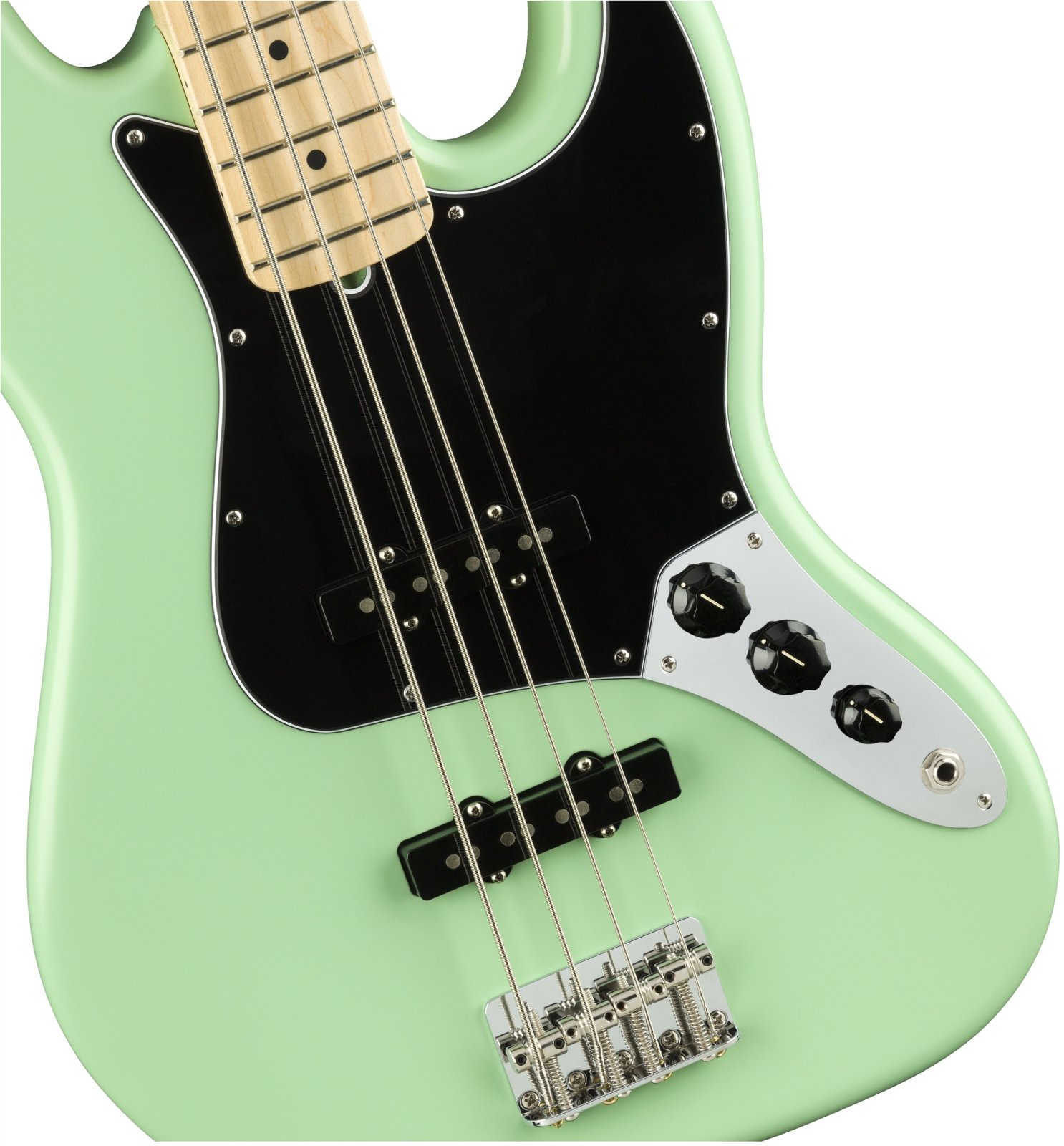 Fender American Performer Jazz Bass - Satin Sea Foam Green