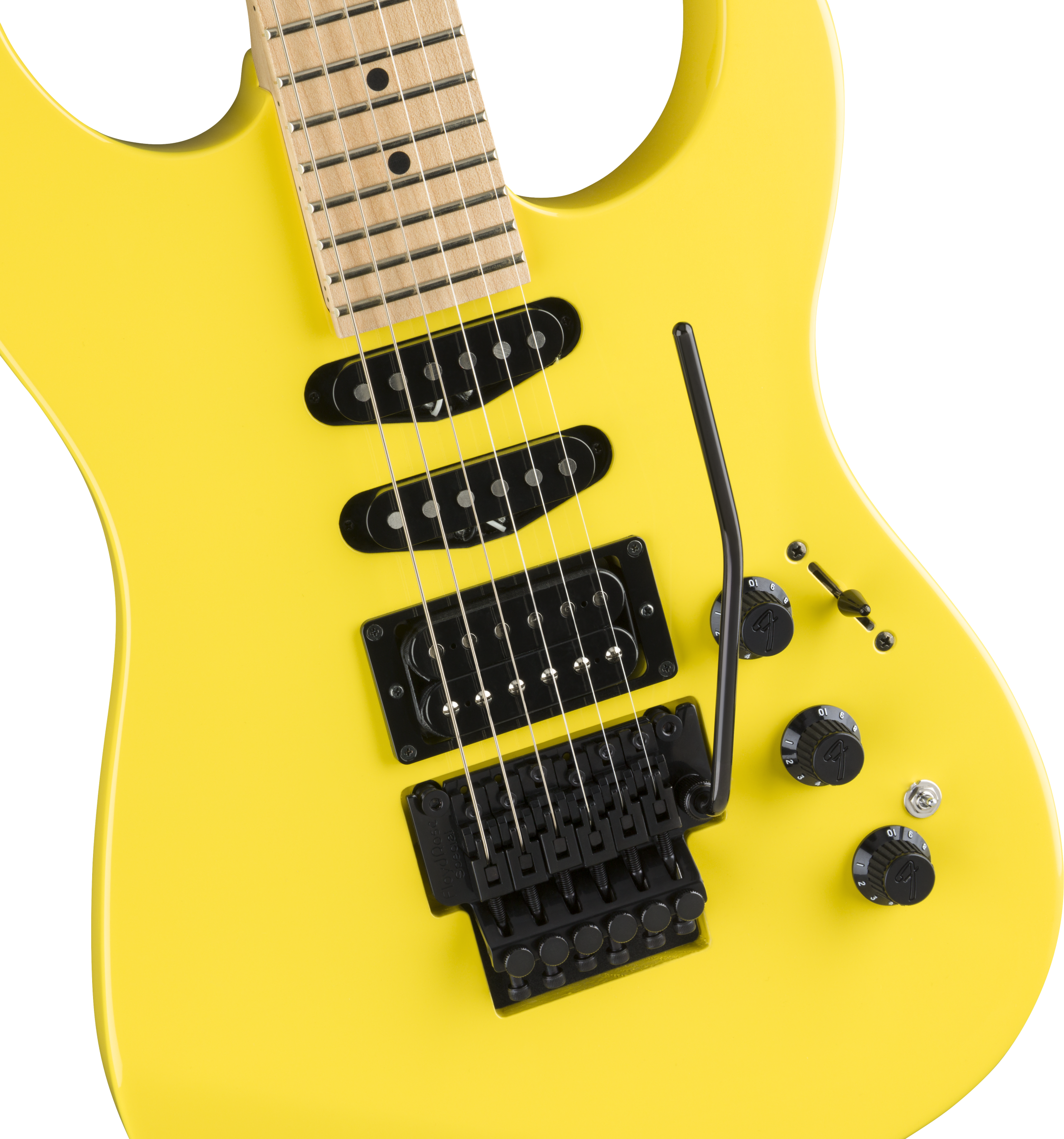Fender Limited Edition HM Strat - Frozen Yellow