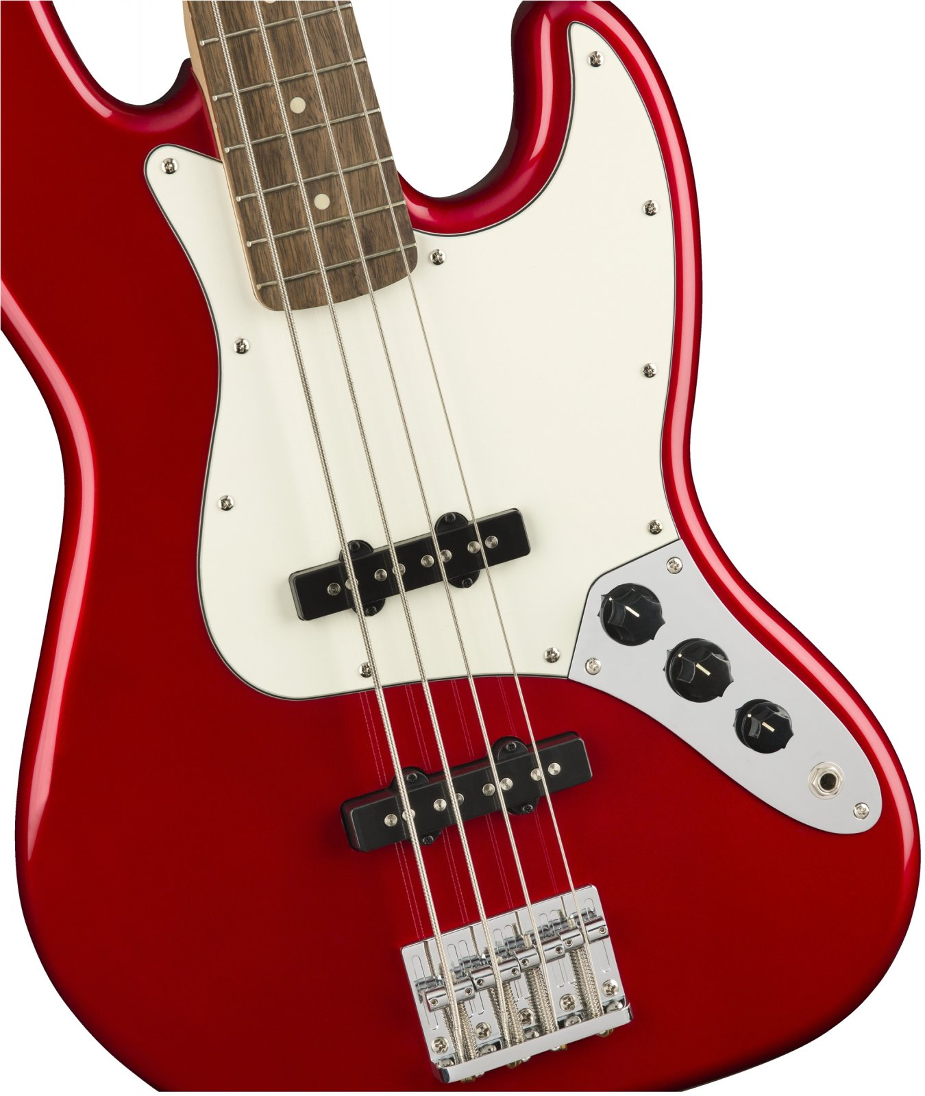Squier Contemporary Jazz Bass - Dark Metallic Red