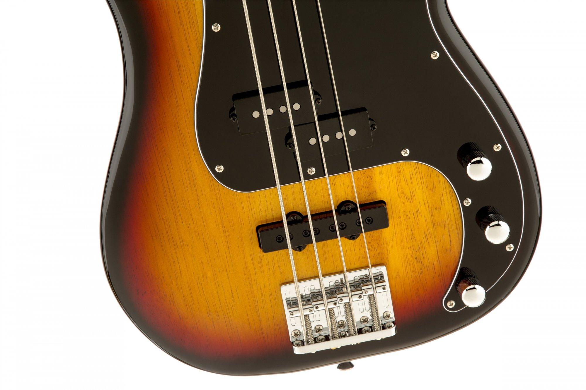 Squier Vintage Modified Precision Bass PJ - 3 Color Sunburst w/ Rosewood Fingerboard