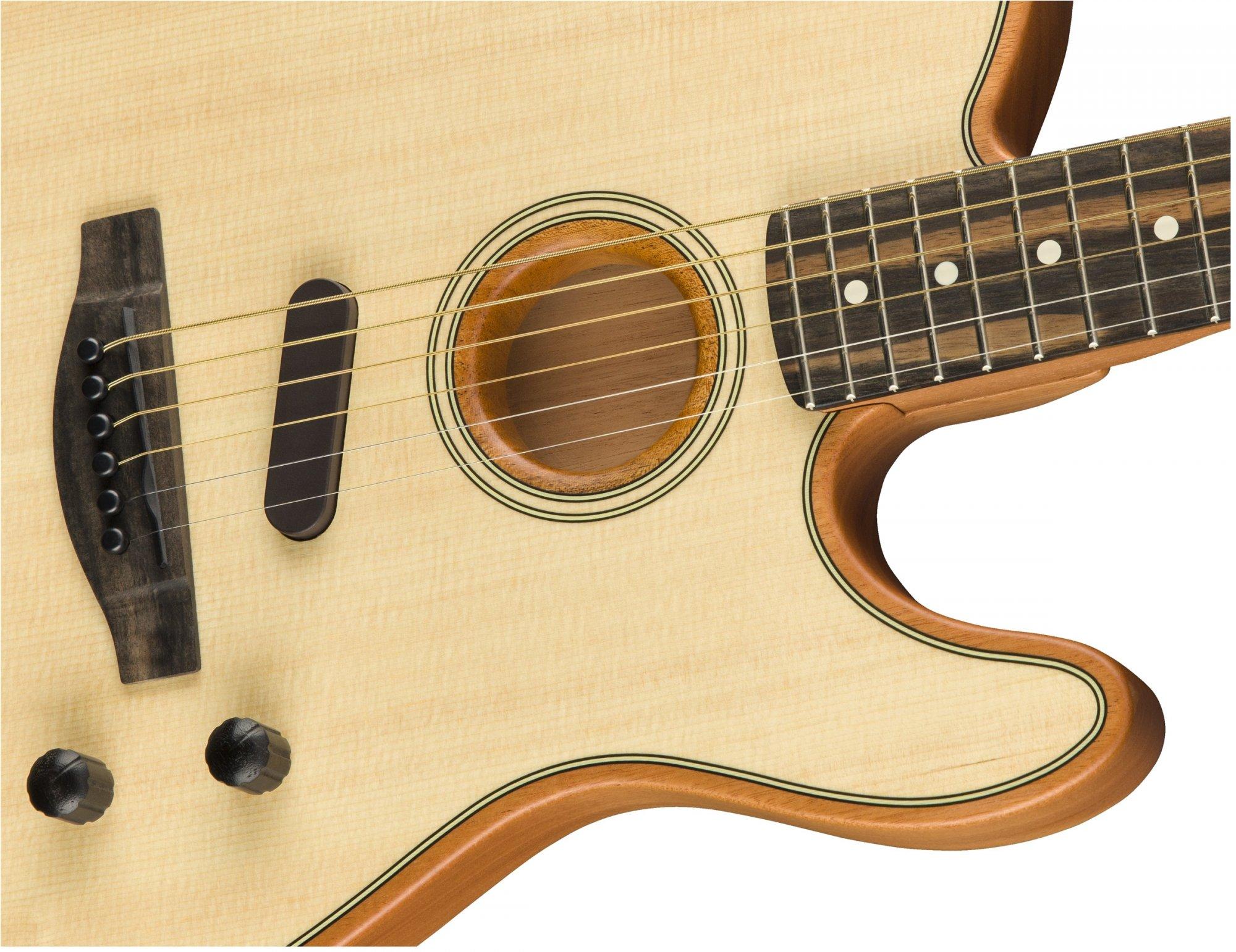 Fender Acoustasonic Telecaster - Natural