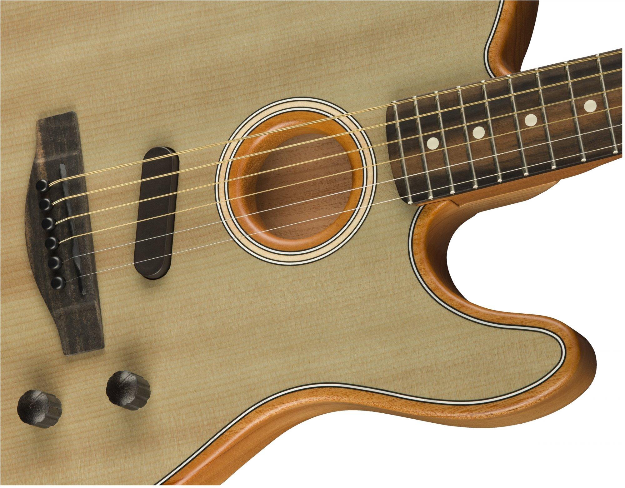 Fender Acoustasonic Telecaster - Sonic Gray