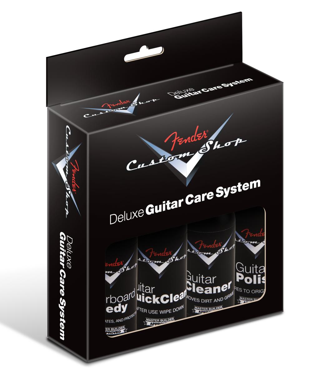 Fender Custom Shop 4 Step Cleaning Kit