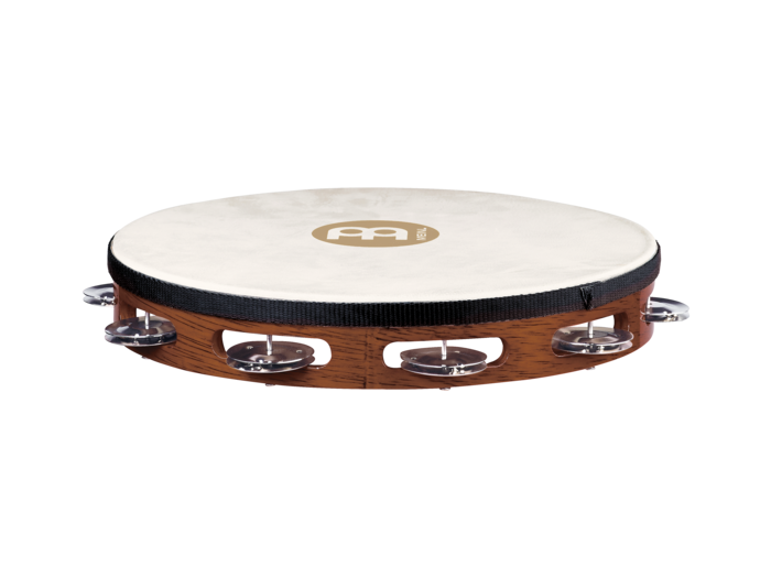 Meinl TAH1AB Headed Tambourine Steel Jingles