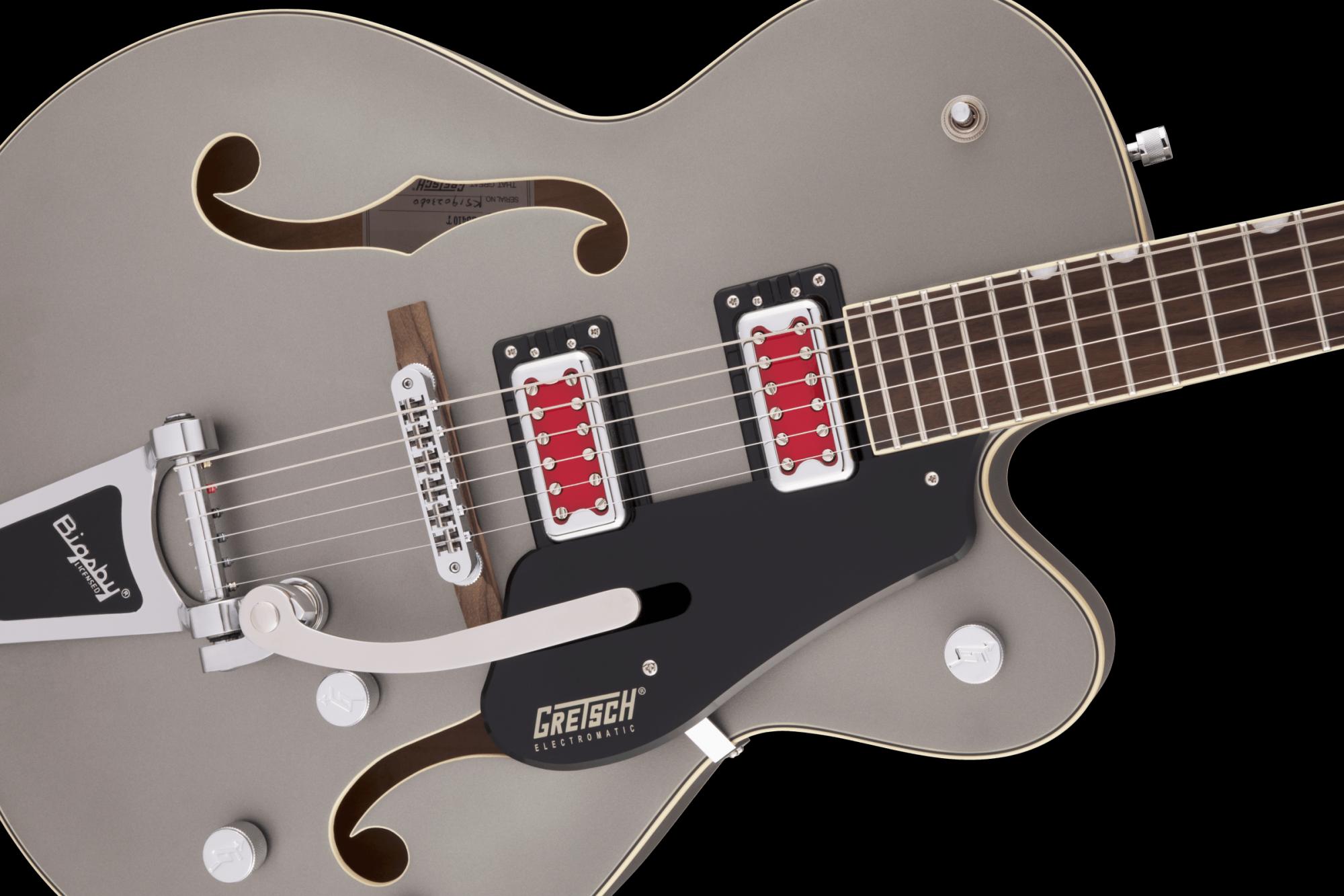 Gretsch G5410T Electromatic Rat Rod - Matte Phantom Metallic