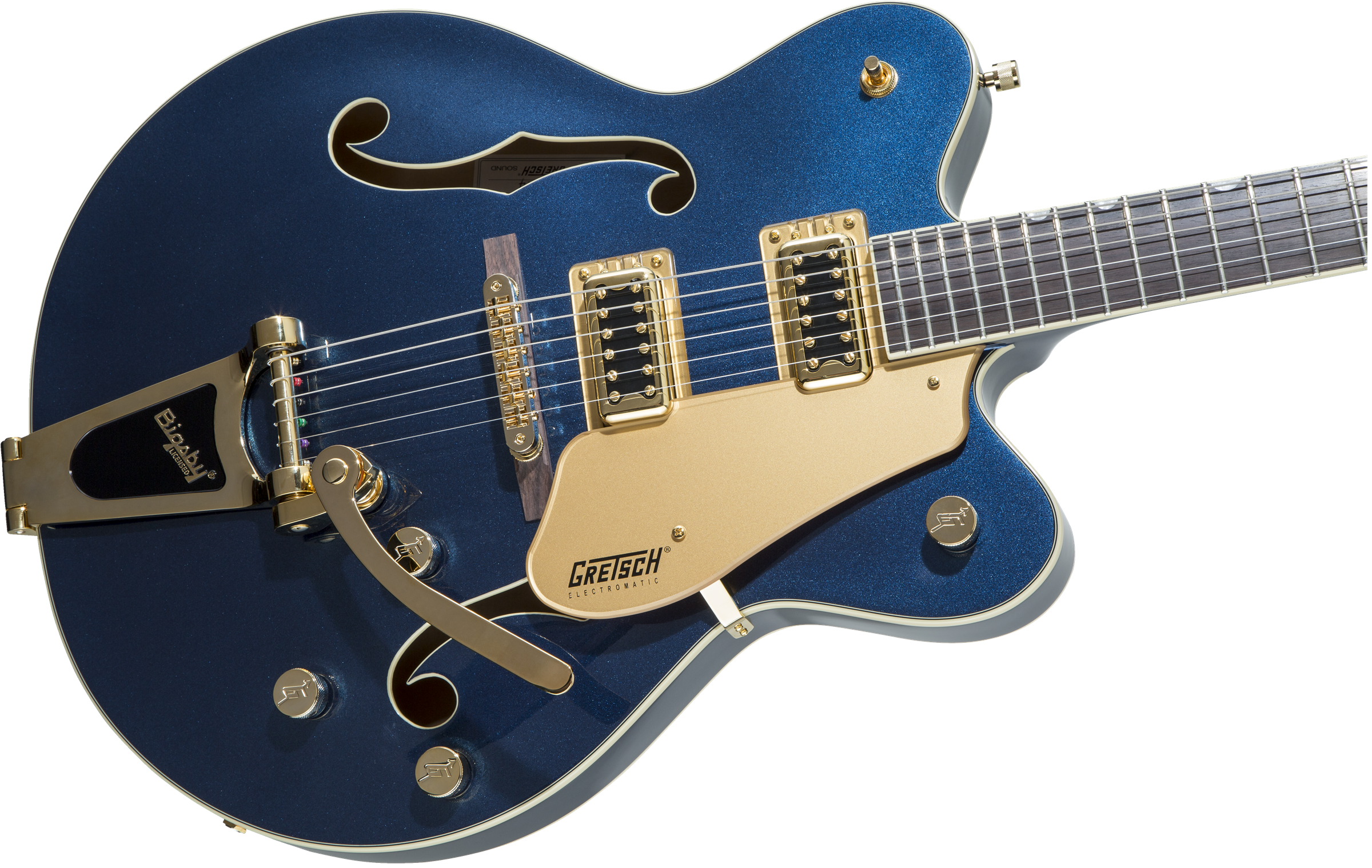 Gretsch G5422TG Limited Edition Electromatic Hollow Body Double-Cut with Bigsby - Midnight Sapphire