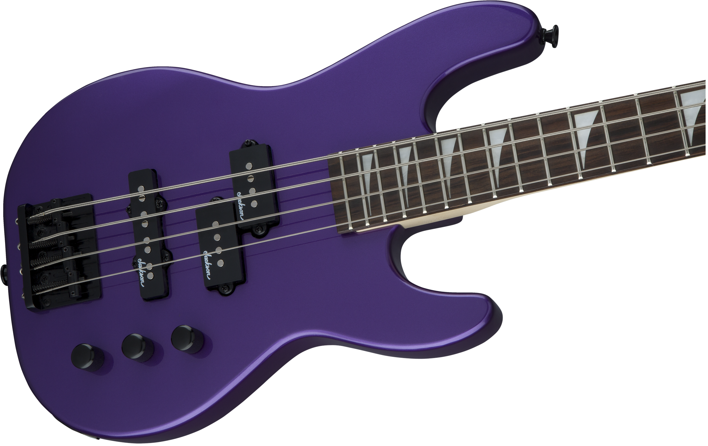 Jackson JS1X CB Minion Bass Pavo Purple