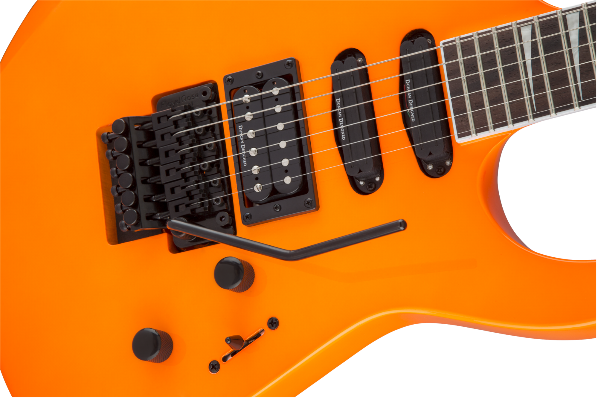 Jackson X Series Soloist SL3X - Neon Orange