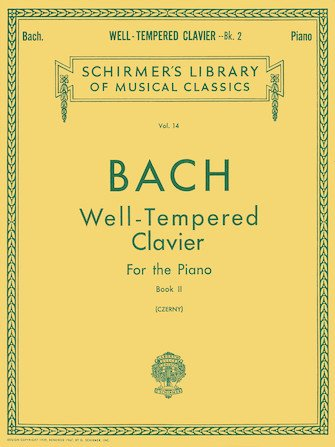 Bach Well-Tempered Clavier For The Piano Book II Vol. 14