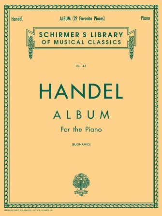 Handel Album For The Piano Vol. 43