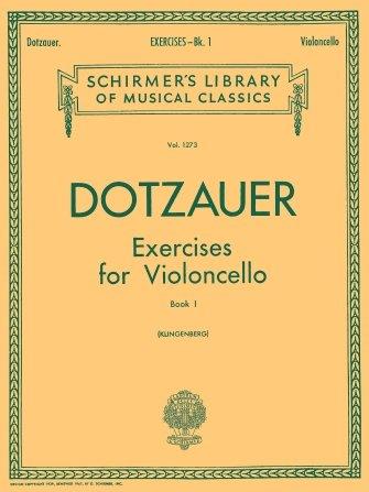 Dotzauer Exercises For Violincello Book 1