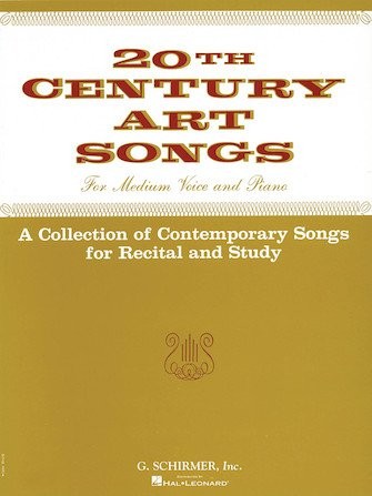 20th Century Art Songs For Recital and Study